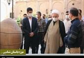 بازدید نماینده ولیفقیه در استان کردستان از اماکن تاریخی و گردشگری + تصاویر
