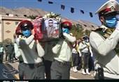 پیکر مطهر مرزبان شهید «رشید سپهوند» در خرمآباد تشییع شد