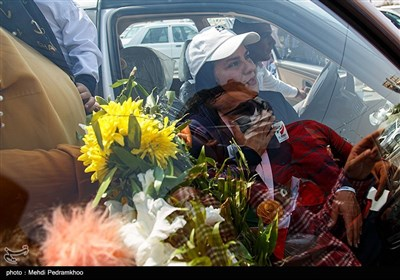 استقبال از هاشمیه متقیانمعاوی بانوی رکورد جهان ایران در پارالمپیک توکیو