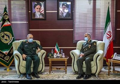 دیدار فرماندهان ارشد سپاه پاسداران با وزیر دفاع و پشتیبانی نیروهای مسلح