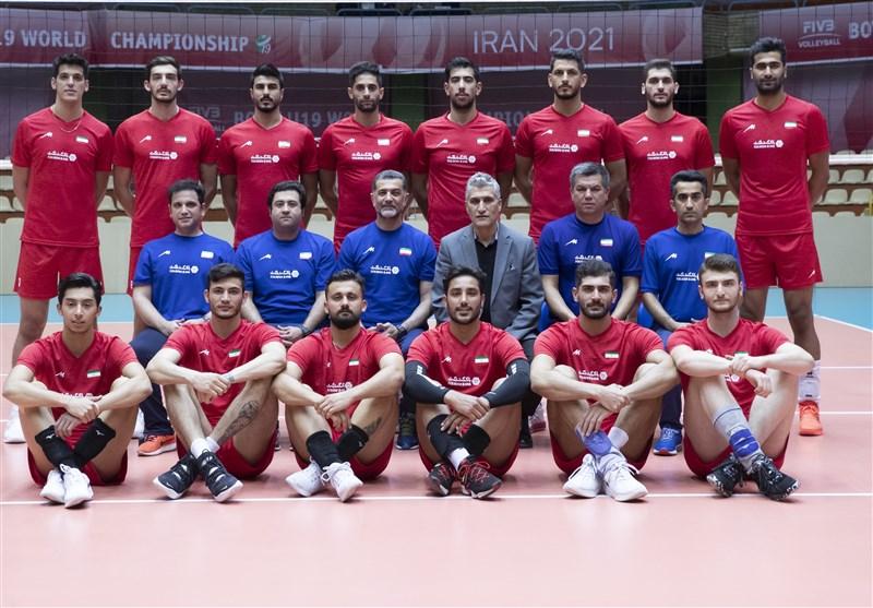 والیبال قهرمانی آسیا  اعلام اسامی 14 بازیکن تیم ملی ایران