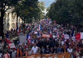 Thousands Flood Streets of Paris to Protest against COVID-19 Health Passes (+Video)