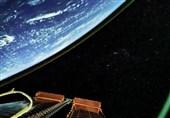 تصویر جدید فضانوردان چشمبادامی از کره ماه بر فراز زمین