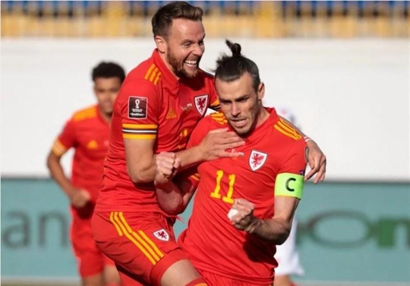 انتخابی جام جهانی ۲۰۲۲  پیروزی ولز مقابل بلاروس با هتتریک بیل