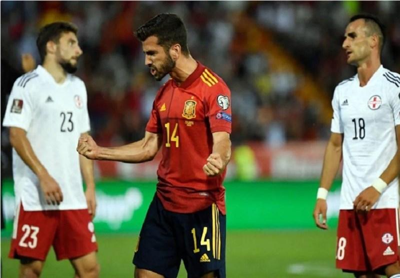 انتخابی جام جهانی ۲۰۲۲  جشنواره گل اسپانیا و آلمان/ توقف ایتالیا با پنالتی سوخته مرد سال اروپا