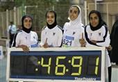 تیم دانشگاه آزاد اسلامی قدیمیترین رکورد دوومیدانی بانوان ایران را شکست