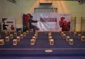 توزیع 110 بسته کمکهای مومنانه فدراسیون ووشو در سراسر کشور