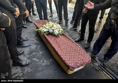 مراسم تشییع پیکر حاج محمد خجسته باقرزاده