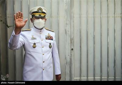 دریادار شهرام ایرانی فرمانده نیروی دریایی ارتش