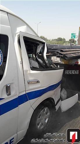 پلیس راهور   پلیس راهنمایی و رانندگی , آتشنشانی , سازمان آتشنشانی تهران , حوادث ,