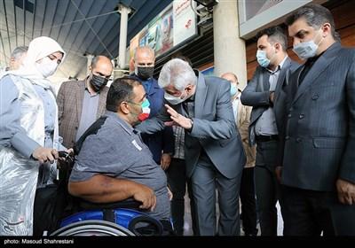 حمید سجادی وزیر ورزش و جوانان