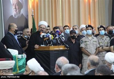 Funeral for Senior Lebanese Cleric Held in Beirut