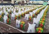 توزیع 3هزار بسته معیشتی و لوازمالتحریر در مناطق محروم کردستان+تصاویر