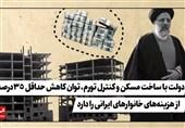 فیلم| دولت با ساخت مسکن و کنترل تورم، توان کاهش حداقل 35درصد از هزینههای خانوارهای ایرانی را دارد