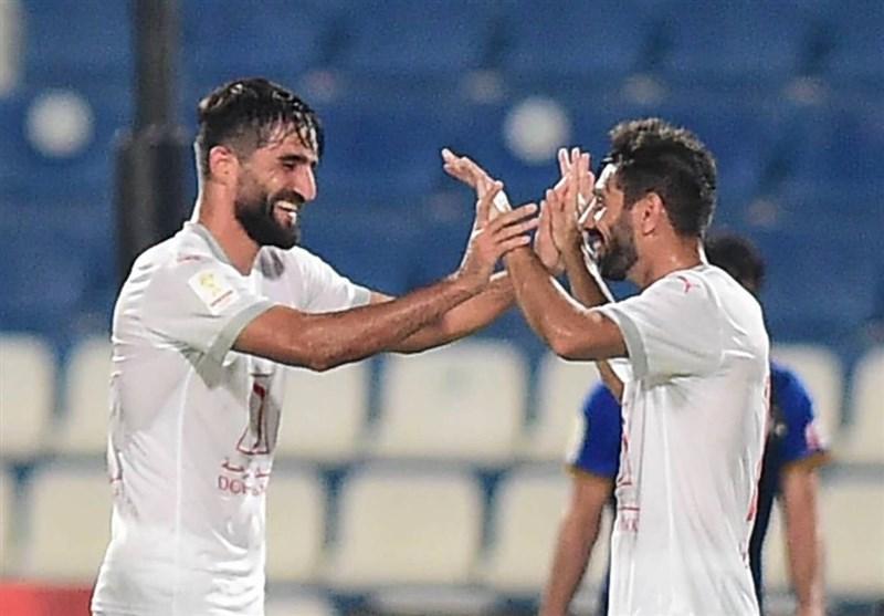 لیگ ستارگان قطر  پیروزی العربی با گلزنی محمدی / شکست سنگین یاران رضاییان