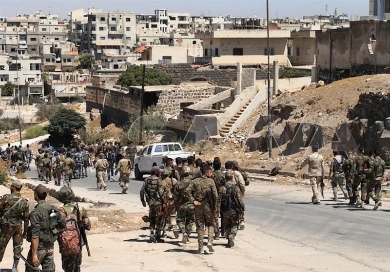 الجیش السوری ینتشر فی قرى جدیدة بریف درعا