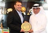 دیدار عزیزی خادم با نایب رئیس غرب آسیا در قطر