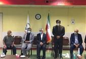 بازدید وزیر ورزش از اردوی تیم ملی وزنهبرداری/ مرادی: وزنه برداری ایران یک الگو در جهان است
