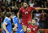 انتخابی جام جهانی 2022  ارمنستان در خانه از پس لیختناشتاین برنیامد
