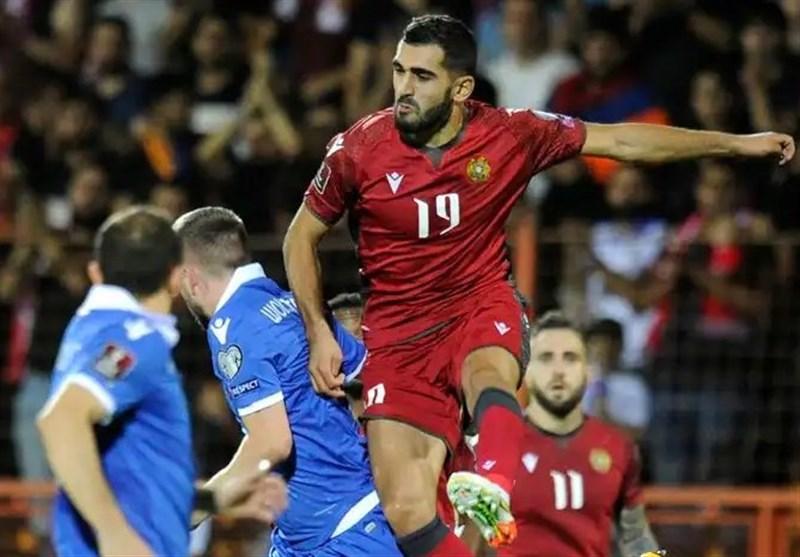 انتخابی جام جهانی ۲۰۲۲| ارمنستان در خانه از پس لیختناشتاین برنیامد