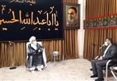 وزیر فرهنگ و ارشاد اسلامی با آیتالله نوری همدانی دیدار کرد
