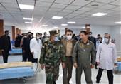 بیمارستان تنفسی شهدای ارتش در قم بهرهبرداری رسید