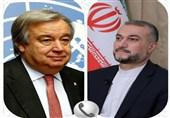 Bakan Emir Abdullahiyan, BM Genel Sekreteri İle Görüştü: Nükleer Anlaşma Üyeleri Yükümlülüklerine Uymalı