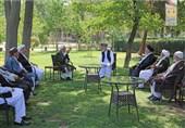دیدار حامد کرزی با اعضای شورای علمای شیعه افغانستان