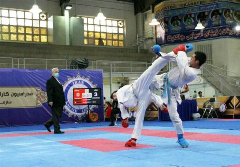 نفرات برتر انتخابی درون اردویی تیم ملی کاراته مشخص شدند