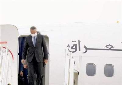 مصطفی الکاظمی وارد تهران شد/ نخستوزیر عراق به دیدار رئیسی میرود