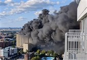 وقوع آتش سوزی بزرگ در بیمارستانی در نیویورک