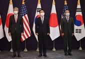 مذاکرات آمریکا، کره جنوبی و ژاپن با هدف خلع سلاح کره شمالی