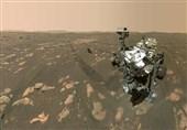 تصویر سنگ حفاری شده در مریخ برای ارسال به زمین