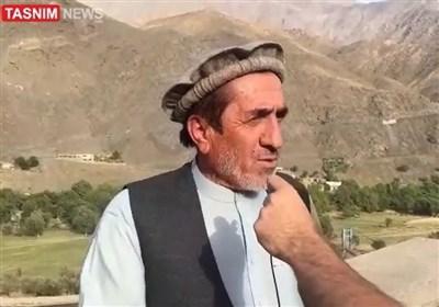 گفتوگوبا یکی از نیروهای حامی احمد مسعود در پنجشیر