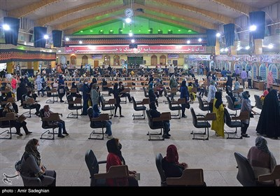 بزرگترین مرکز شبانه روزی واکسیناسیون کرونا کشور در حسینیه عاشقان ثارالله –شیراز