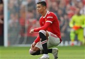 واکنش رونالدو به شکست منچستریونایتد در اولین بازی اروپایی