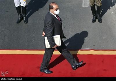 ورود مصطفی الکاظمی به تهران