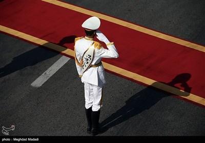 در حاشیه ورود مصطفی الکاظمی نخستوزیر عراق