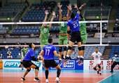 والیبال قهرمانی آسیا| جدال حریفان ایران به سود پاکستان تمام شد