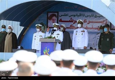 مراسم استقبال از ناوگروه 75 نیروی دریایی ارتش