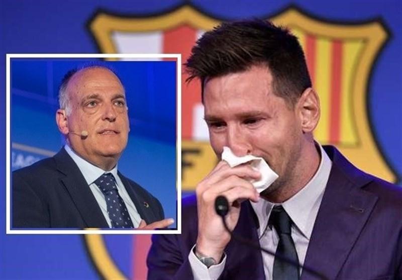 تباس: نحوه جدایی مسی از بارسلونا شایسته او نبود