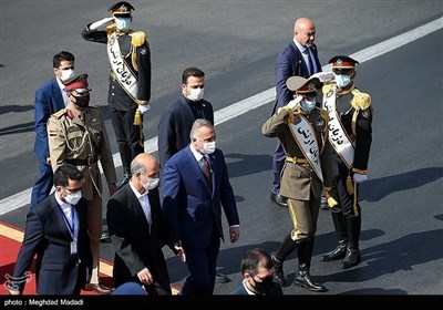 وصول الکاظمی إلى طهران