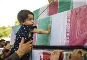روایت همسر شهید مدافع حرم از دشواری تعریف شهادت برای دختر 4 سالهاش