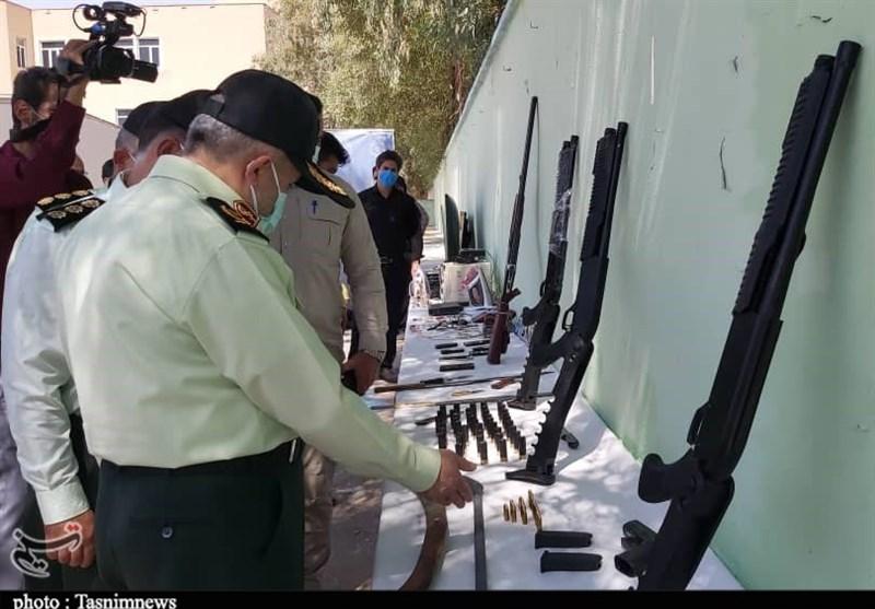 اعضای باند مخوف سارقان مسلح در اهواز به دام پلیس افتادند