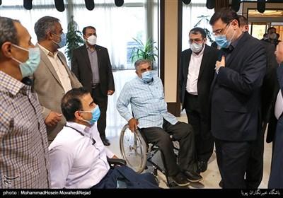 برنامه های امروز رئیس جدید بنیاد شهید وامور ایثارگران