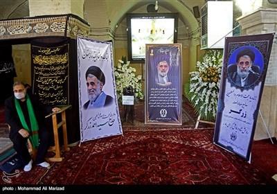 مراسم تشییع حجت الاسلام قاضی زرگر