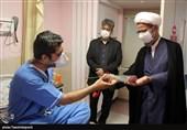 بازدید نماینده ولی فقیه در خراسان شمالی از بیمارستان ثامنالائمه(ع) بجنورد به روایت تصویر