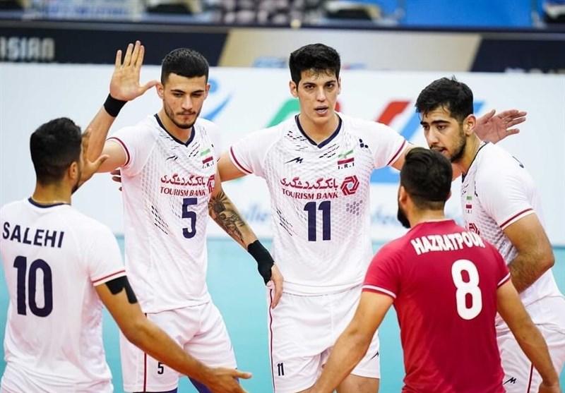 2021 Asya Voleybol Şampiyonası: İran Yarı Finalde