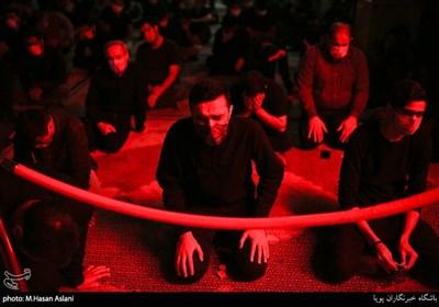 عزاداری شب شهادت امام حسن(ع) در هیأت ریحانه النبی