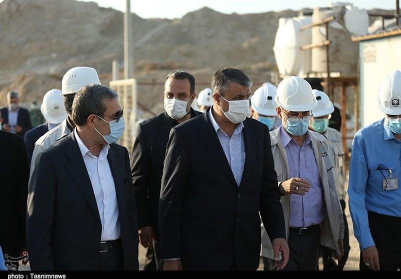 رئیس سازمان انرژی اتمی از پروژههای نیروگاه اتمی بوشهر بازدید کرد+ تصاویر